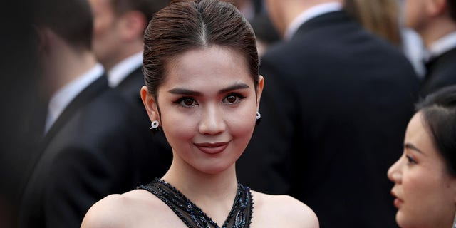 """Ngoc Trinh attends the screening of """"A Hidden Life"""" during the 72nd annual Cannes Film Festival on May 19, 2019 in Cannes, France. (Getty Images)"""