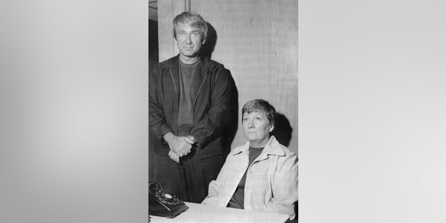 Marshall Herff Applewhite and Bonnie Lu Trusdale Nettles arrested by local police on Aug. 28, 1974. Applewhite was charged with auto theft and Nettles with the fraudulent use of credit cards.