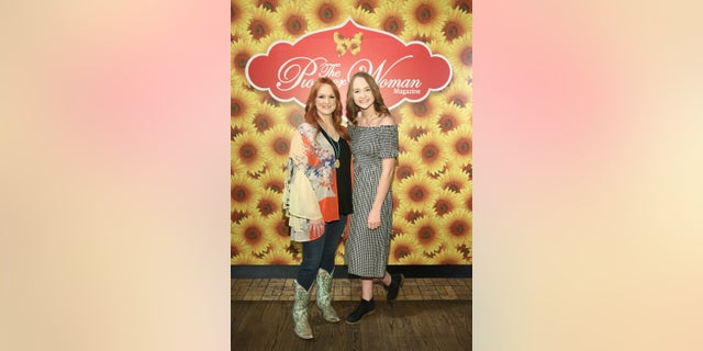 Ree Drummond (L) and Paige Drummond attends The Pioneer Woman Magazine Celebration with Ree Drummond at The Mason Jar.