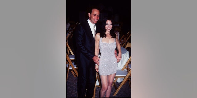Fran Drescher and then-husband Peter Marc Jacobson during the height of her 'Nanny' fame. (Photo by Magma Agency/WireImage)