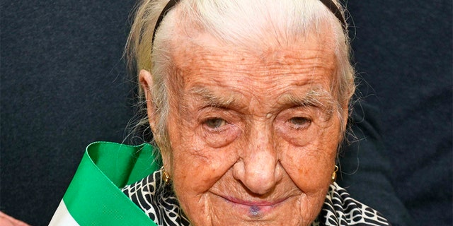 Westlake Legal Group Giuseppina-Robucci Italian woman believed to be Europe's oldest person dead at 116 fox-news/world/world-regions/italy fox-news/world/world-regions/europe fox news fnc/world fnc article 3fbaa0a3-c28b-5969-81cb-cc3b2c307e38