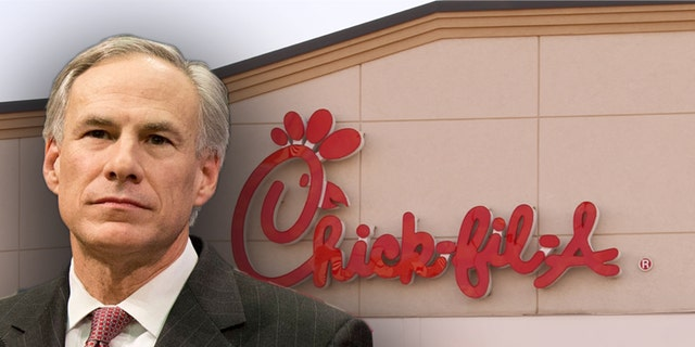 Westlake Legal Group Gov-abbott-chicc Texas governor signs controversial 'Save Chick-fil-A' bill into law Talia Kaplan fox-news/us/us-regions/southwest/texas fox-news/politics/state-and-local/issues fox-news/politics/state-and-local/controversies fox-news/lifestyle/fast-food fox-news/food-drink fox news fnc/food-drink fnc article 61742b43-be95-5c8a-8d36-17b2b5242602