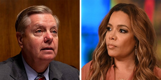 Westlake Legal Group Graham-Hostin_Getty Sunny Hostin says Lindsey Graham 'sold his soul' in his support of President Trump Sam Dorman fox-news/politics/elections/republicans fox-news/person/meghan-mccain fox-news/person/lindsey-graham fox-news/entertainment/the-view fox-news/entertainment/media fox news fnc/entertainment fnc article 5fc5e8f7-a91c-5e60-9f85-cd108276ab34