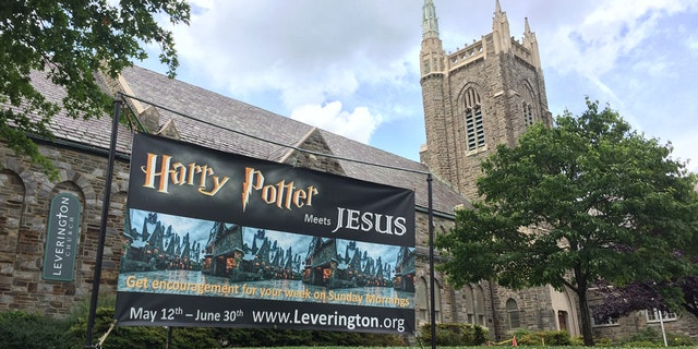 "Leverington Presbyterian Church in Philadelphia, Pa. is attracting believers and fans of J.K. Rowling's popular series in ""Harry Potter meets Jesus."""