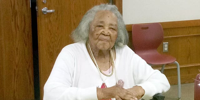 Rev. Hattie Mae Allen celebrates her 105th birthday alongside family and friends.