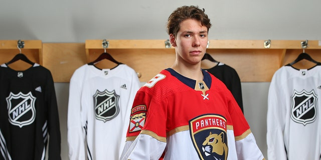 Westlake Legal Group Henrik-Rybinski-GettyImages-1157627951 Florida Panthers draft pick had driver's test same day he was selected Ryan Gaydos fox-news/sports/nhl/florida-panthers fox-news/sports/nhl fox news fnc/sports fnc article a93b1210-0a9e-5f13-9121-97e39be993d3
