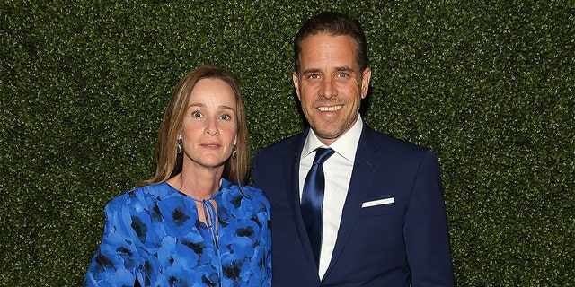 2016 flashback: World Food Program USA Board Chairman Hunter Biden and Kathleen Biden arrive at the World Food Program USA's Annual McGovern-Dole Leadership Award Ceremony at Organization of American States on April 12, 2016 in Washington, DC.