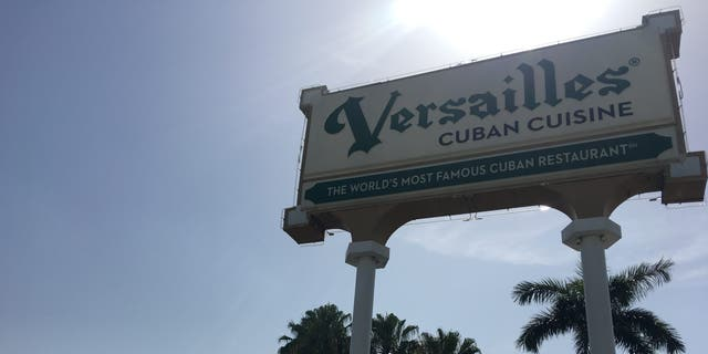 Cuban-American exiles have been gathering for meals and to talk politics for decades at Versailles in Little Havana. (Alex Pappas/Fox News).