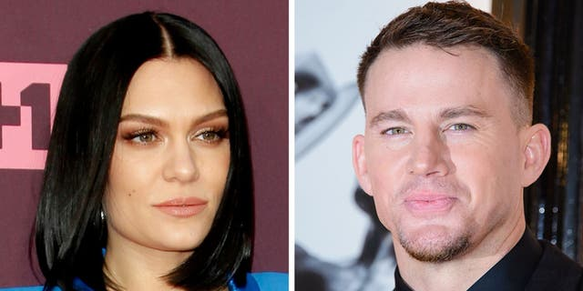 """Thanks. Everyone deserves happiness, right?"" Jessie J said when asked about her relationship with actor Channing Tatum."