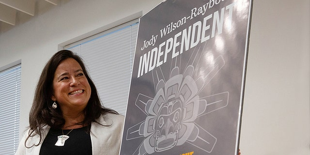 Former Canadian Justice Minister and current independent MP Jody Wilson-Raybould speaks to supporters about her political future during a news conference in Vancouver, British Columbia, Canada, May 27, 2019.