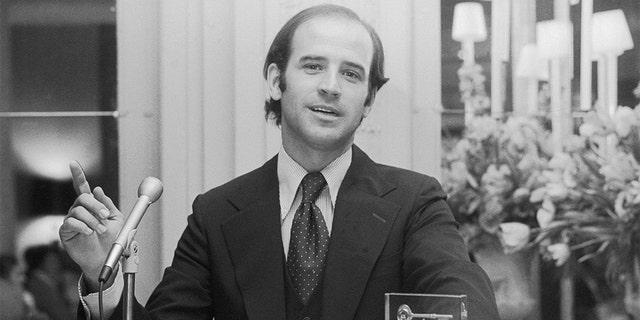Sen. Joseph Biden of Delaware in 1974.
