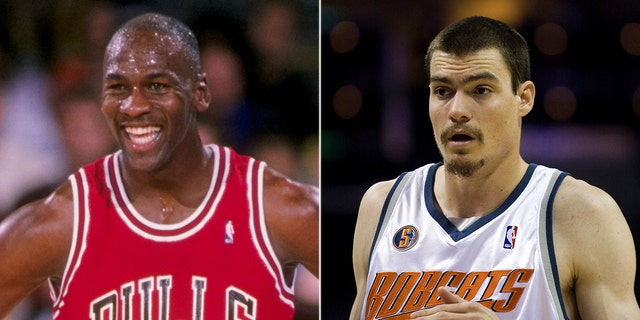 Michael Jordan was drafted by a Bulls with a No. 3 collect in 1984. The Jordan-ran Charlotte Bobcats took Adam Morrison with a No. 3 collect in 2006.