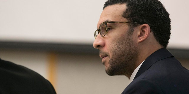 Former NFL player Kellen Winslow Jr. was convicted of raping a 58-year-old homeless woman last year north of San Diego. (John Gibbins/The San Diego Union-Tribune via AP, Pool)