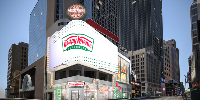 "Along with exclusive merchandise and stadium-style seating, the flagship location will feature the world's largest ""Hot Light."""