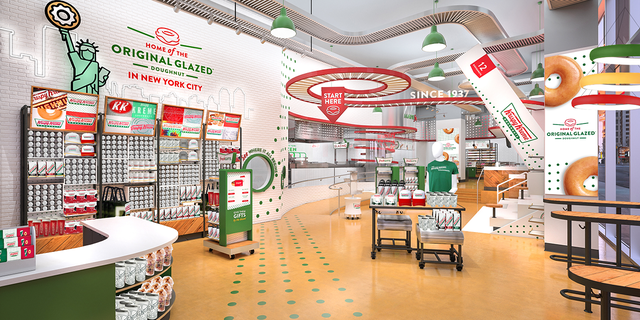 """In the most iconic city in the world, the Krispy Kreme Times Square Flagship will showcase our brand on the global stage and inspire customer wonder,"" said Krispy Kreme CEO Michael Tattersfied."