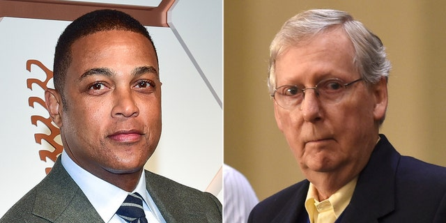 "CNN anchor Don Lemon has slammed Mitch McConnell's argument against reparations as ""simple-minded and stupid"""