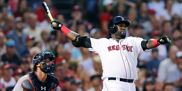 David Ortiz was shot and wounded at a Santo Domingo bar on Sunday night. (AP Photo/Charles Krupa, File)
