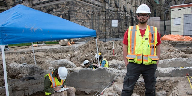 Archaeologists have uncovered barracks, a guardhouse and a number of 19th-century items from the site near Canada's Parliament in Ottawa.