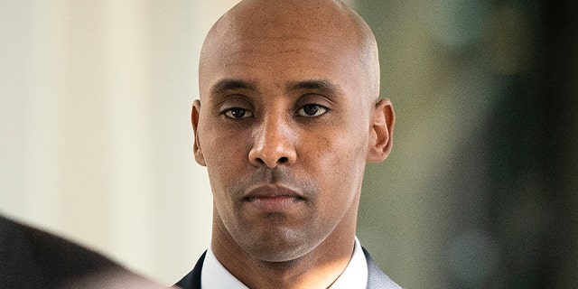 FILE - In this April 26, 2019, file photo, former Minneapolis police officer Mohamed Noor walks to court in Minneapolis.