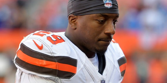 Duke Johnson indicated he wanted to be traded, but the Browns don't appear to be willing to trade him at this moment. (AP Photo/David Richard, File)