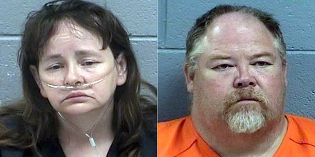 Martha and Timothy Crouch of Aztec, N.M. (San Juan County Sheriff's Office via AP)