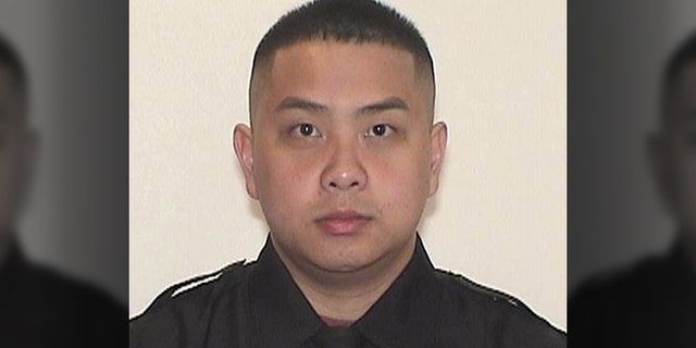 Kou Her, the Milwaukee officer killed in a collision while off duty. (Milwaukee Police Department)