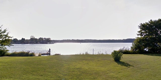 Ralph Miyaya reportedly fell into Pine Lake, pictured here, in LaPorte County, Indiana.