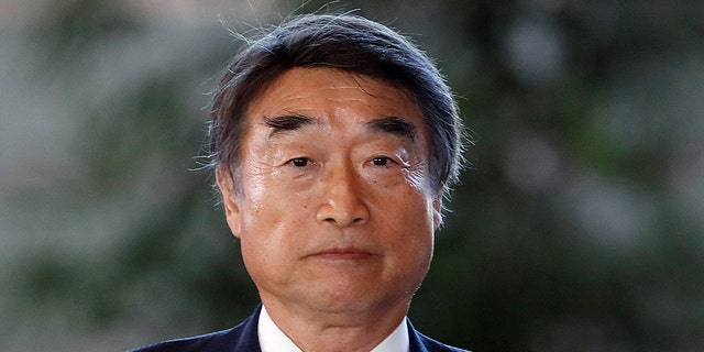 Japan's Health, Labor and Welfare Minister Takumi Nemoto defended the practice of requiring women to wear high heels in workplaces.