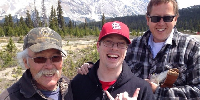 From left:Syd Kanten,Drew Huskey and Kanten's son Tyler.