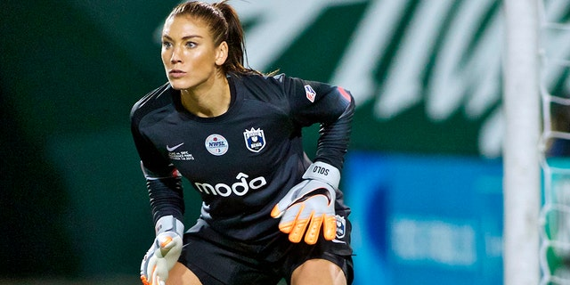 Hope Solo combined to a debate surrounding a U.S. win over Thailand. (AP Photo/Craig Mitchelldyer, File)