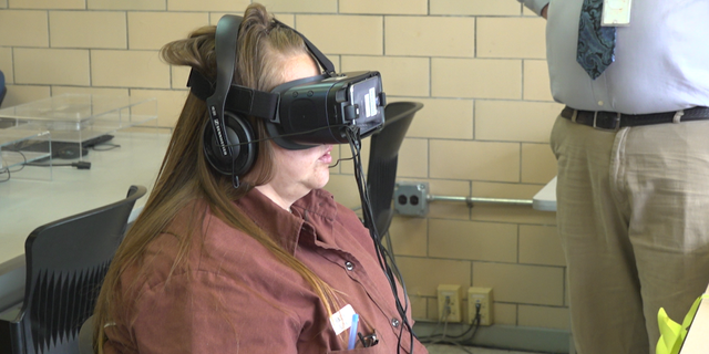 """Inmates could """"visit"""" places on the outside to prepare for release through virtual reality goggles."""