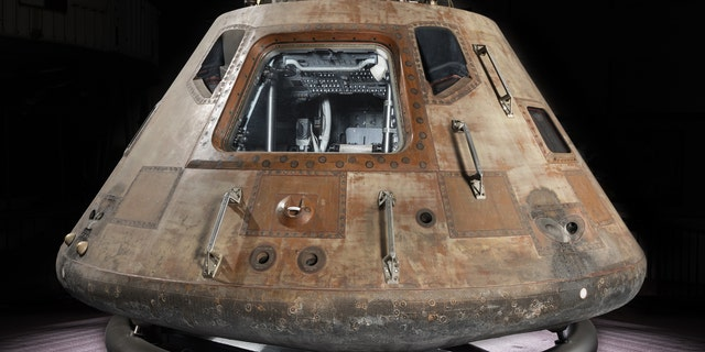 The Columbia Command Module (Smithsonian National Air and Space Museum)