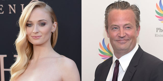 Sophie Turner revealed the genius way she tried to flirt with Matthew Perry