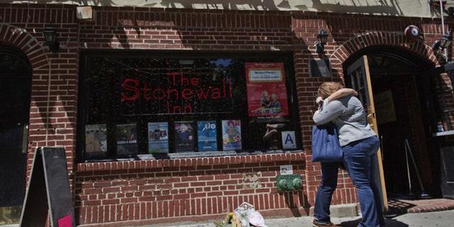 The Stonewall Inn in Greenwich Village, Manhattan