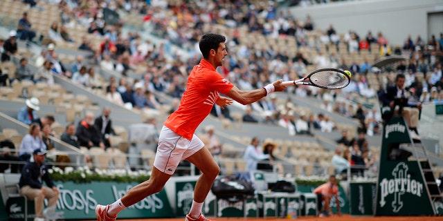 Djokovic won the tournament in 2016. (AP Photo/Christophe Ena)