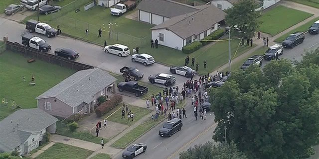 An officer-involved shooting took place in Fort Worth on Sunday.