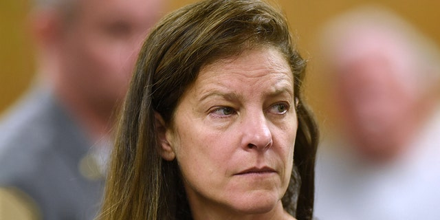 Michelle C. Troconis was arraigned on charges of tampering with or fabricating earthy justification and first-degree opposition charge during Norwalk Superior Court in Norwalk, Conn. Monday, Jun 3.
