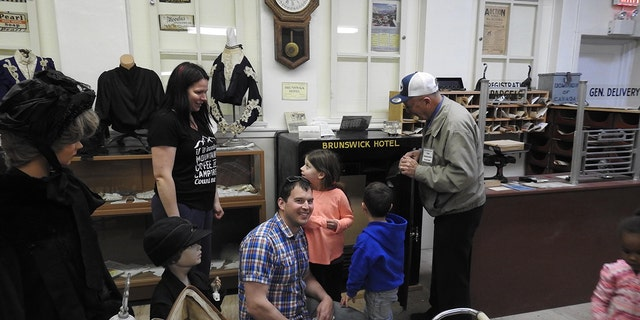 Stephen Mills was visiting the Vermilion Heritage Museum with his family when he cracked the safe that had been locked for 40 years.