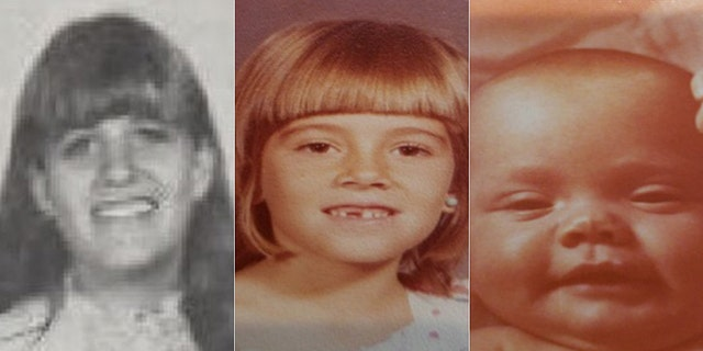 Marlyse Elizabeth Honeychurch, 24, and her two daughters Marie Elizabeth Vaughn, 6, and Sarah Lynn McWaters, 1, were identified Thursday as three of the four bodies found inside barrels located in the woods of Bear Brook State Park beginning in 1985.