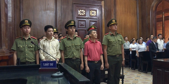 "Michael Nguyen was sentenced to 12 years in prison in Vietnam for ""attempting to overthrow the state."""
