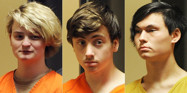Denali Brehmer, 18, Kayden McIntosh, 16, Caleb Leyland, 19, and two other unnamed juveniles were arraigned in a Superior courtroom Tuesday for the June 2 slaying of 19-year-old Cynthia Hoffman,