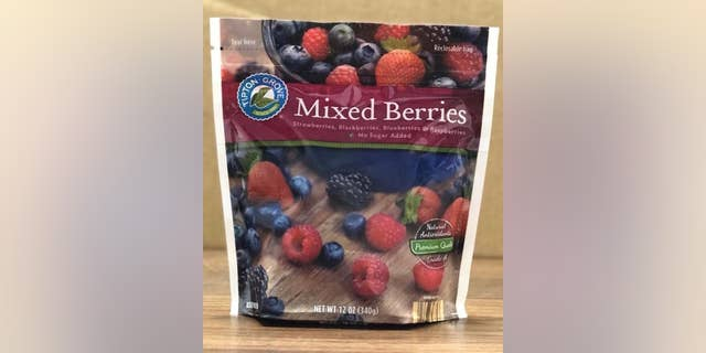 Select packages of Tipton Grove Frozen Mixed Berries are impacted by the recall.