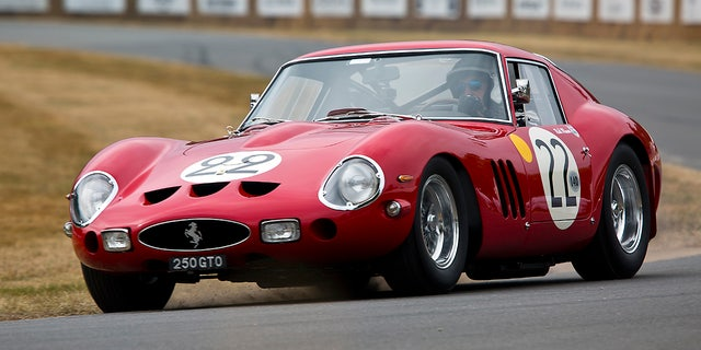 Despite their value, many 250 GTO owners drive their cars in vintage racing events.