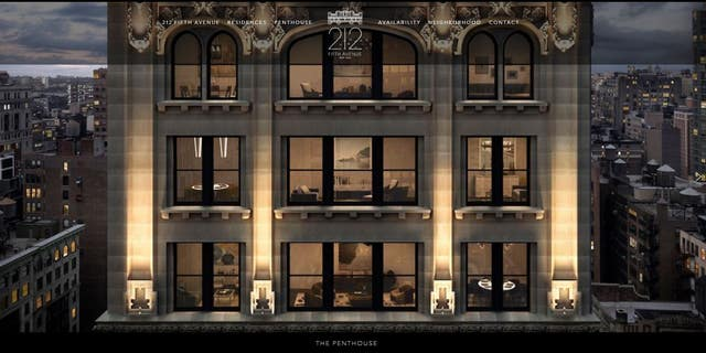Amazon CEO and founder Jeff Bezos is under contract for the penthouse at 212 Fifth Avenue, seen above.