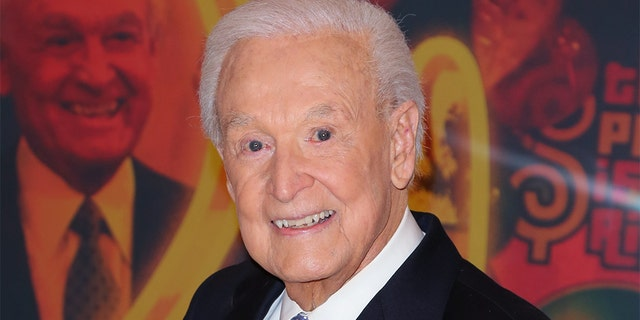 """Bob Barker attends the set of """"The Price Is Right"""" to celebrate his 90th Birthday at CBS Television City on November 5, 2013 in Los Angeles, California. (Photo by Paul Archuleta/FilmMagic)"""