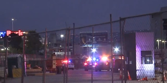 The incident happened around 7:43 p.m. on Monday at the San Ysidro Port of Entry.