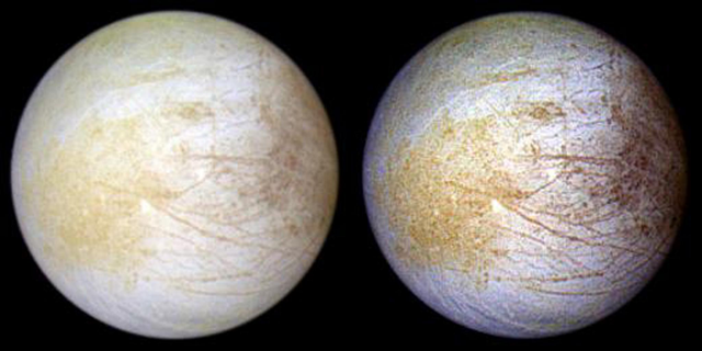 Scientists Find Water Vapor on Jupiter's Moon Europa
