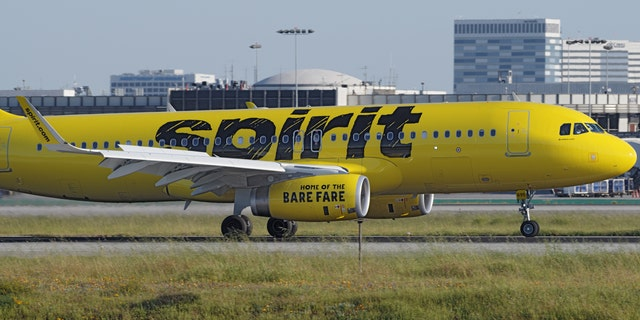 The woman said she alerted Spirit Airlines crew and then told the pilot once the plane landed, who allegedly directed her to tell a gate agent.