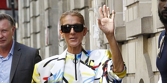 Celine Dion Wears the Leggiest Look Imaginable While in Paris