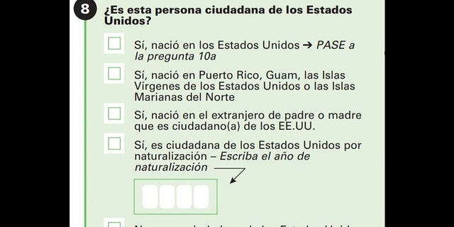 Obama's Census Bureau asked -- in Spanish -- if respondents were U.S. citizens on all eight of his annual American Community Surveys.